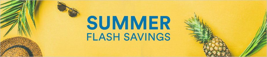 Summer Flash Savings