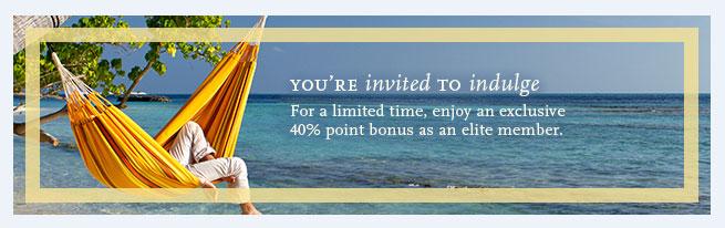 40% bonus