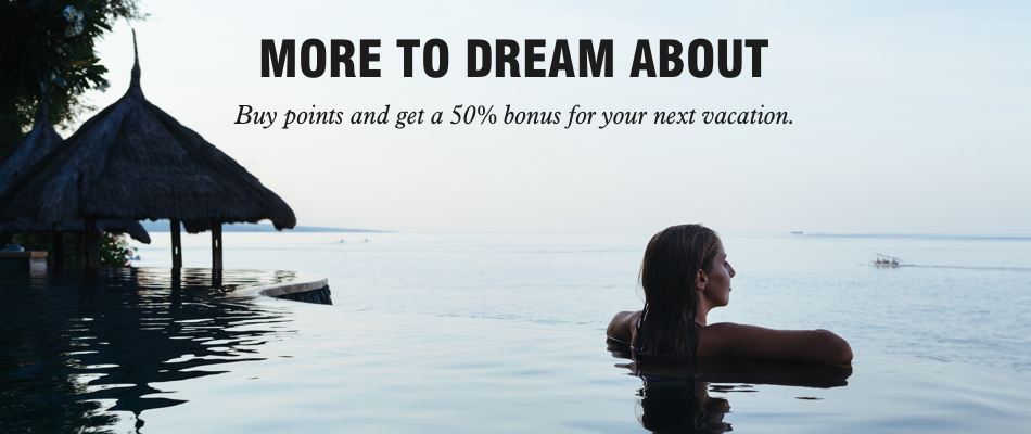 Bonus 50% Pembelian Poin Marriott Bonvoy